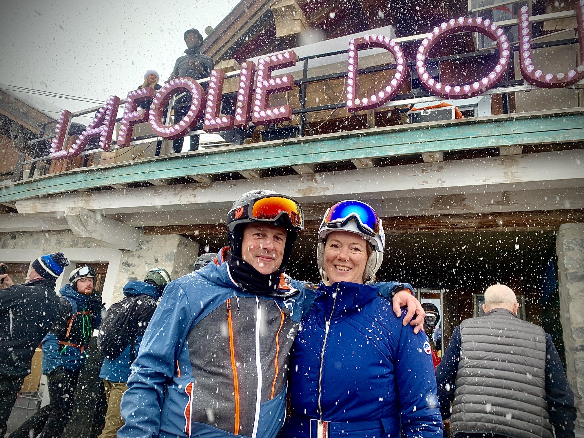 la folie douce with the Faulkners